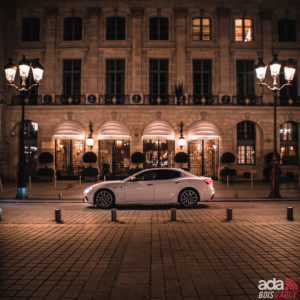Location véhicules de luxe mariage MASERATI GHIBLI SQ4 Yvelines 78