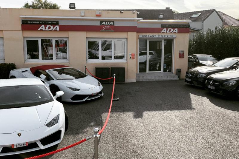 Agence ada location de véhicules de prestige à Bois d'Arcy dans les Yvelines