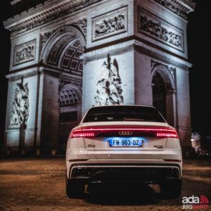 Location SUV Audi Q8 ada bois d'arcy 78 Yvelines