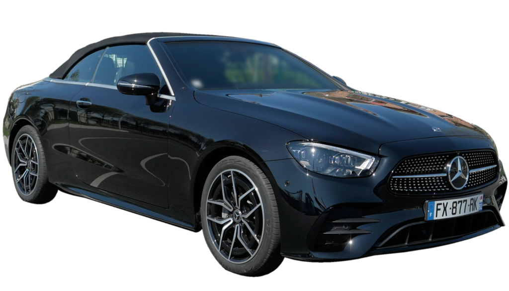 Location Mercedes Classe E cabriolet ada bois d'arcy 78 Yvelines